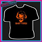 SHIT-TING KEITH LEMON  FUNNY SLOGAN TSHIRT
